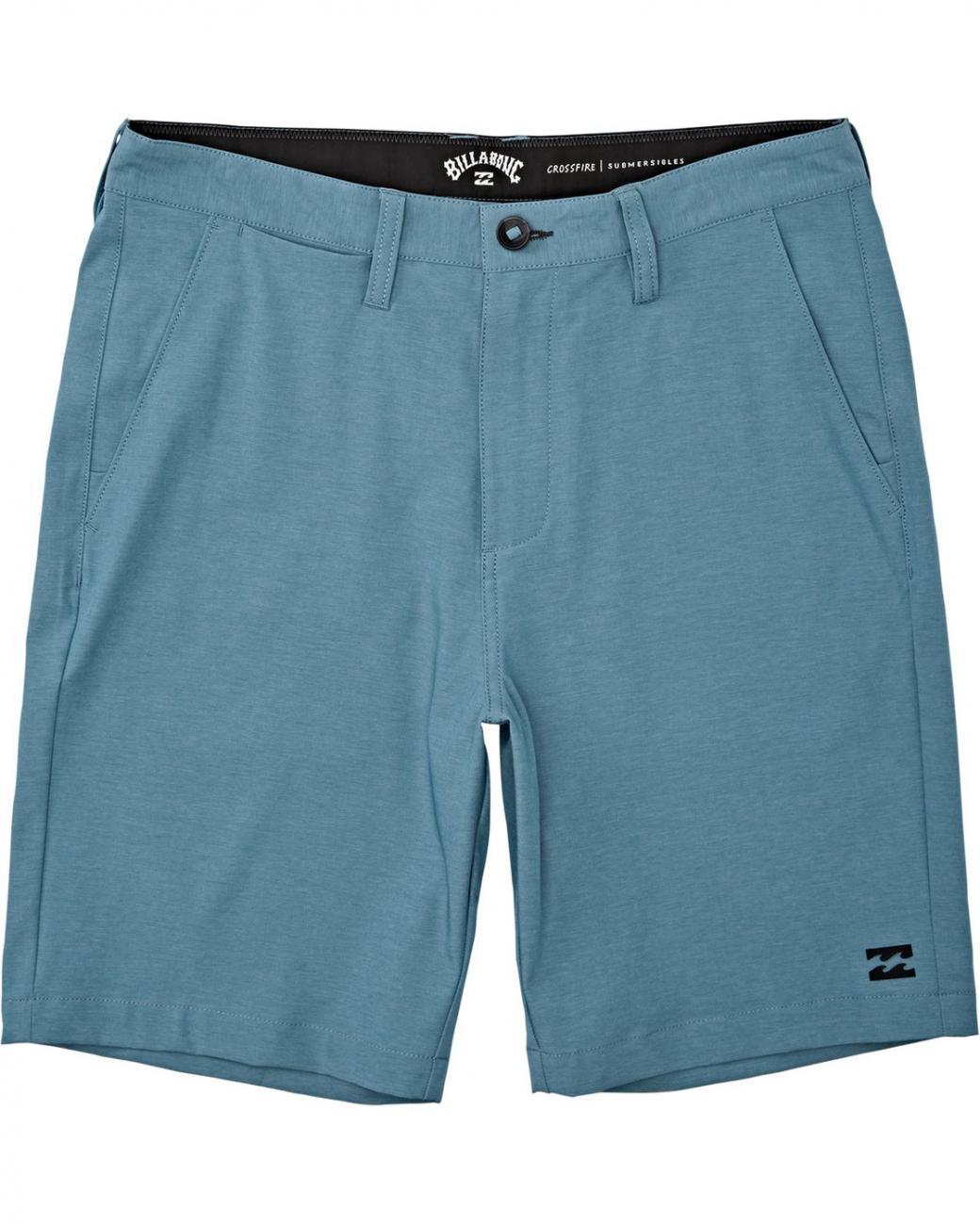 Pantalones Cortos Crossfire Shorts Sumergibles Bay Blue Billabong Hombre Dai Trung Chinh